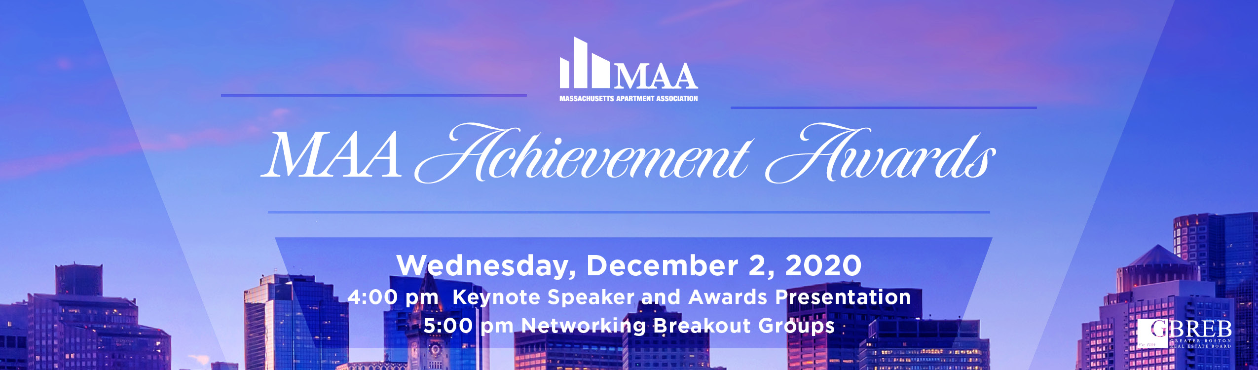 MAA Achievement Awards