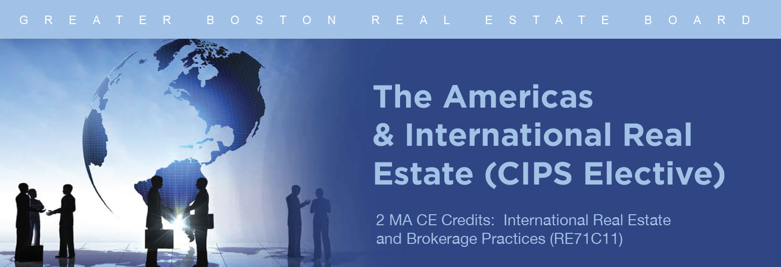 CIPS- The Americas And International Real Estate